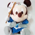 ตุ๊กตา Mickey Mouse ชุดโมโมทาโร่