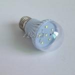 หลอดไฟ LED 3W 12V ขั้ว E27 สีขาว ( OEM )