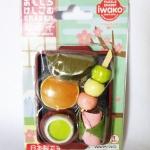 Puzzle Eraser IWAKO made in Japan ชุด Japanese Sweet