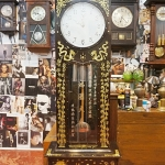 นาฬิกาตั้งพื้นmautheฝังมุข รหัส 1757fc