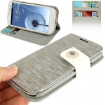 Case เคส Flash Lines Samsung Galaxy S 3 III (i9300)(Silver Grey)