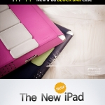MFIT Block Bar Stand Cover Case for The New iPad 3