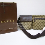 Gucci Belt bag mirror image image 7 stars {น้ำตาล}