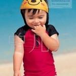 ชุดว่ายน้ำเด็ก ลายเต่าทอง