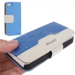 Case เคส Straw Mat iPhone 5 (Blue)
