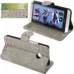 Crocodile HTC One (M7) (Grey)