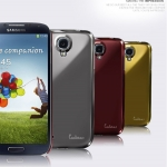 EILEEN : Luster Mirror Case For Samsung Galaxy S4, S IV, i9500