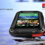 (353-014)เคสมือถือ HTC One E8 เคสกันน้ำกันกระแทก LOVE MEI