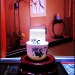 ชุดถ้วยชาแบบดมดื่ม ลายภาพวาดเด็ก Child painting Tea cup set TKLG-CP1