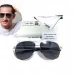 แว่นกันแดด ic berlin model aubergine n. peari 59-13 <เงิน>