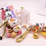 (151-217)เคสมือถือซัมซุง Case Note5 เคส TPU+อะคริลิคใสลายแมวกวักเงินกวักทอง 3D