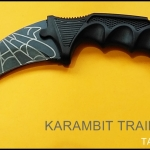มีดซ้อมควง คารัมบิตแบล็คสไปเดอร์ Black Spyder Karambit Trainer Knife