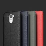 (025-796)เคสมือถือ Case Huawei Y7prime เคสนิ่มซิลิโคนลายหนังสไตส์เรียบหรู