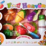 ชุดหั่นผักต่างๆของเด็กเล่น