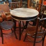 ชุดโต๊ะ+เก้าอี้เชคโกรหัส10458tc