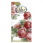 กระดาษแนปกิ้น กระดาษเดคูพาจ 20x20 Flower PT-401990