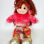 ตุ๊กตา Snazzy Sabrina ของ TY-Beanie Boppers