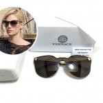 แว่นกันแดด VERSACE VE2120/S BLACK 87GA/GREY 59-16-135 <ชา>