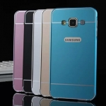 (025-083)เคสมือถือซัมซุง Case Samsung A3 เคสกรอบบัมเปอร์โลหะฝาหลังอะคริลิคทูโทน