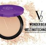 แป้งพัฟ V2 Revolution Wonder Beam Smooth Melting Powder SPF25 PA++