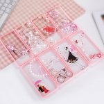 (025-627)เคสมือถือไอโฟน Case iPhone 8 เคสใสลายดีไซน์สไตส์ผู้หญิง