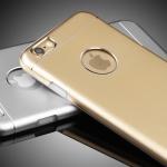 (373-017)เคสมือถือไอโฟน case iphone 6/6S เคสนิ่มฝาหลังโลหะแบบบางสไตล์ 2 ชิ้น