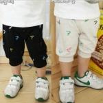 กางเกงเด็ก น่ารัก สไตล์เกาหลี สีครีม (ซื้อ 3 ตัว ราคาส่ง 220 บาท) คละลายได้ค่ะ