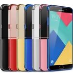 (671-001)เคสมือถือซัมซุง Case Samsung A9 Pro เคสนิ่มใสขอบสีสวยๆแฟชั่น