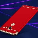 (025-515)เคสมือถือ Case Huawei Y7prime เคสพลาสติกขอบแววแฟชั่น