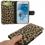Case เคส Leopard Samsung Galaxy Grand Duos (i9082)(Yellowish Brown)
