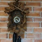 นาฬิกากุ๊กกรู2ถ่วง8วันรหัส8159kc