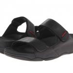 *** พร้อมส่ง *** FitFlop Men's Gogh Adjustable Sandals - Black US 11