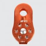 รอกอลูมิเนียม ทางเดียว รุ่น AP011 (Aluminum Pulley)