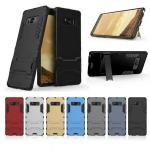 (436-251)เคสมือถือซัมซุง Case Samsung Galaxy Note8 เคสนิ่มกรอบพลาสติกขาตั้งในตัวกันกระแทกสไตล์ IronMan