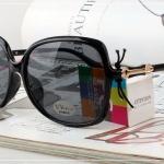 แว่นกันแดด PC Glasses Attention Z2298-1 60-17 132 <ดำ>