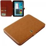 Case เคส Crazy Horse Samsung Galaxy Note 10.1 (N8000)(Yellowish Brown)