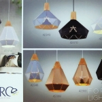 Modern Lamps Set-16
