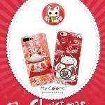 (557-005)เคสมือถือไอโฟน Case iPhone 6Plus/6S Plus เคสลายแมวกวักนำโชคญี่ปุ่น มาเนกิ เนโกะ (Maneki Neko)