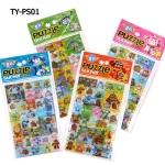 TY-PS01 Puzzle Sticker - Robocar Poli