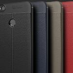 (025-800)เคสมือถือ Case Huawei P8 Lite 2017 เคสนิ่มซิลิโคนลายหนังสไตส์เรียบหรู
