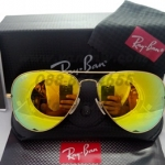 RB 3025 AVIATOR LARGE METAL 112/68 58-14 3N < ปรอทเหลือง >