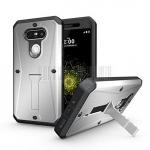 (พร้อมส่ง)เคสมือถือ LG G5/G5 SE เคสนิ่ม+พื้นหลังประกบแบบพลาสติก+มีขาตั้ง