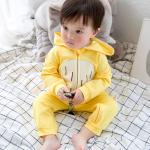 ชุดบอดี้สูท สีเหลือง น่ารัก สำหรับเด็กเล็ก