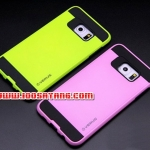 (413-020)เคสมือถือซัมซุง Case Samsung S6 edge plus เคสนิ่มพื้นหลังพลาสติกทูโทนสุดสวย