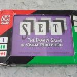 การ์ดเกม SET The Family Game of Visual Perception