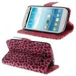 Case เคส Magenta Lepaord Samsung Galaxy S 3 III (i9300)