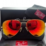 RB 3025 AVIATOR LARGE METAL 112/69 58-14 3N ปรอทส้ม
