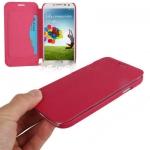 Case เคส Dcool Natural แบบซองหนัง Samsung Galaxy S 4 IV (i9500) สีแดงเข้ม