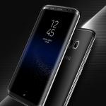 (025-568)เคสมือถือไอโฟน Case Samsung S8+ เคสใสซิลิโคนนิ่มขอบสีคลุมรอบกันกระแทกพร้อมฟิล์มกันรอย