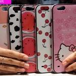 (440-098)เคสมือถือไอโฟน case iphone 6Plus/6S Plus เคสนิ่ม+ขอบพลาสติกอ่อน+เชือก ลายการ์ตูนน่ารักๆ